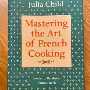 """""""Mastering The Art Of French Cooking"""" cook book"""